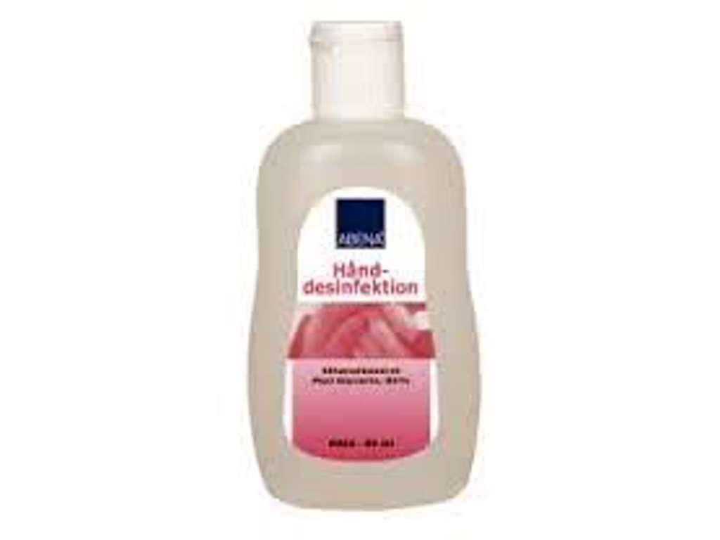 Hånddesinfektion, gel, med vippelåg, 85% ethanol, 80 ml