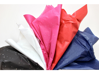 Mønstret silkepapir