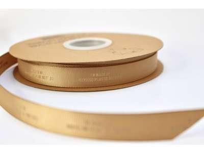 Genbrugsbånd rillet 16mm natur