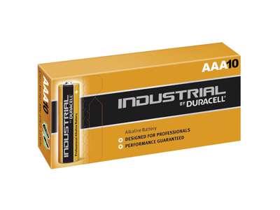 Batterier AAA Duracell 10 stk. / pk.