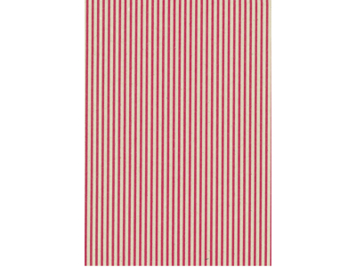 Gavepapir røde striber 40 cm