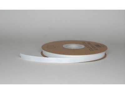 Genbrugsbånd 9mm rillet hvid