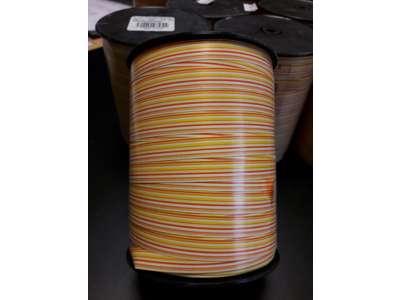 Gavebånd stribet gul