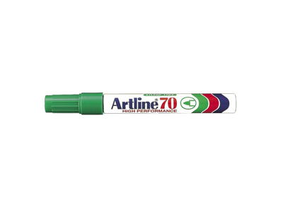 Artline 70 marker grøn 1,5 mm.