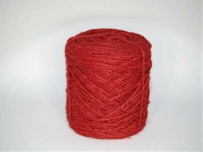 Flax cordel rød 470m