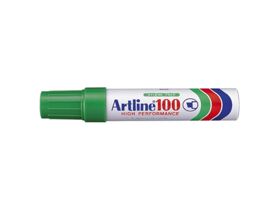 Artline 100 marker grøn 7,5 - 12 mm.