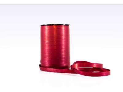 Gavebånd matline mørk rød