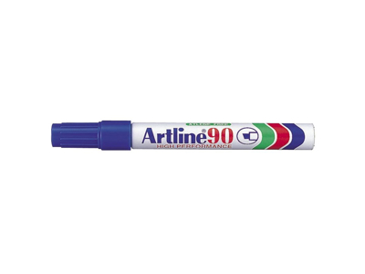 Artline 90 marker blå 2,0 - 5,0 mm.