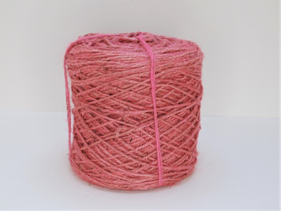 Flax cordel rosa 1kg 470m