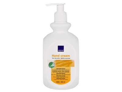 Håndcreme, Abena, uden farve, med parfume, 21% fedt, 500 ml