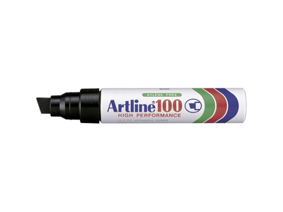 Artline 100 marker sort 7,5 - 12 mm.