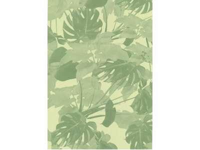 gavepapir planter grøn 55 cm.