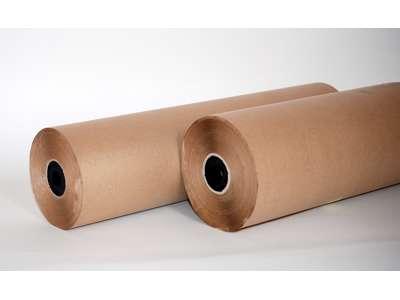 Økonom brun 55cm x 250m. 45 grams papir