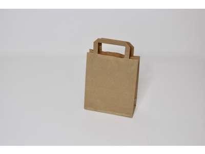 Bæreposer 18x8x21,5  cm brune