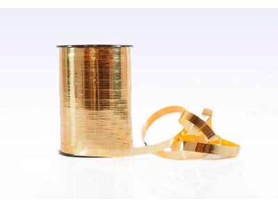 Gavebånd metallic 5mm guld