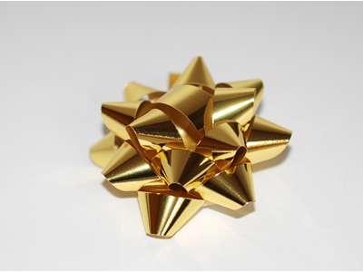 Metallicsløjfer - Guld