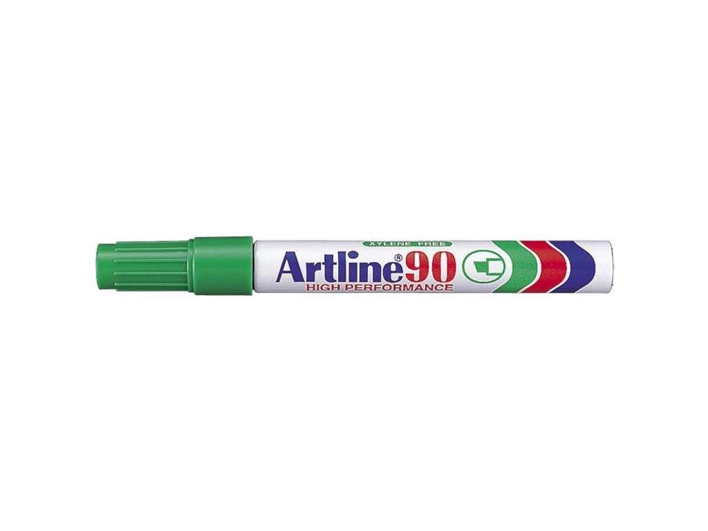 Artline 90 marker grøn 2,0 - 5,0 mm.