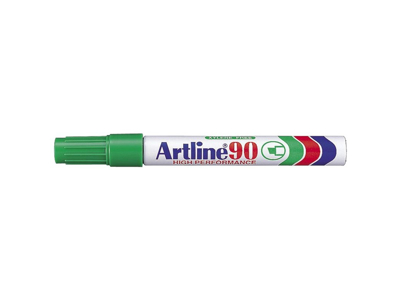 Artline 90 marker grøn 2,0 - 5,0 mm.