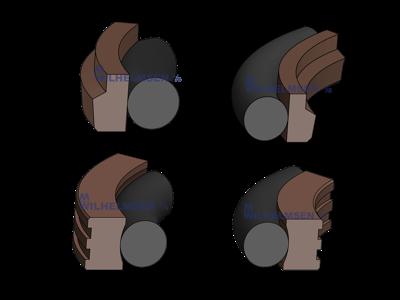 PTFE tætninger (Teflon)