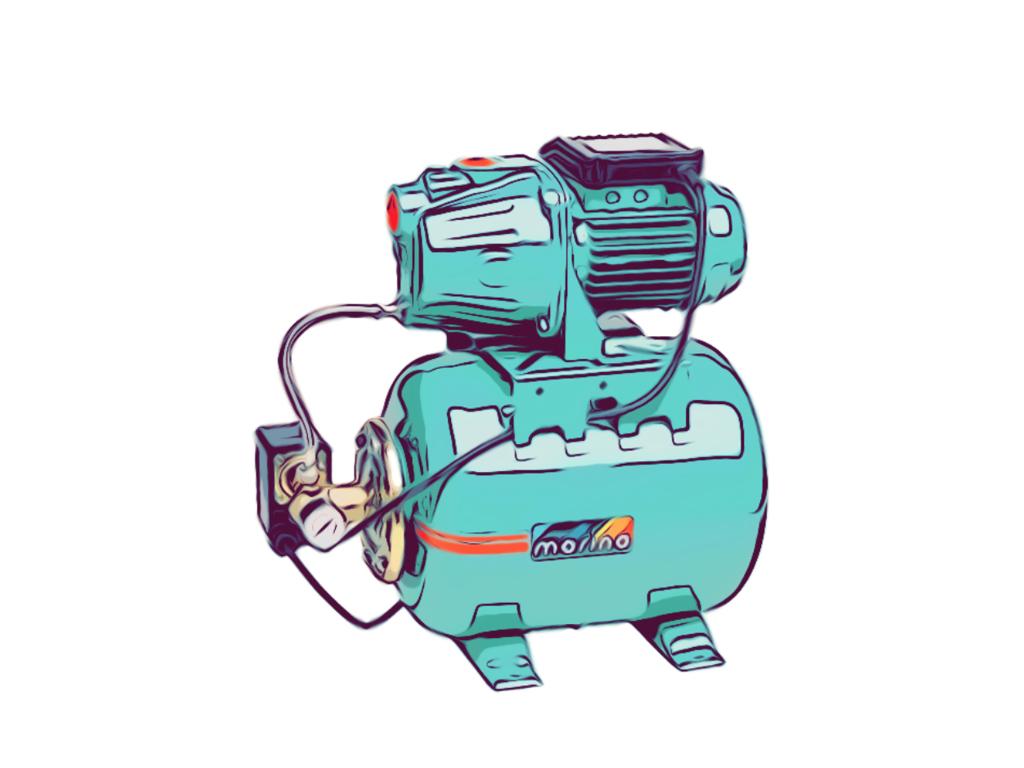 Trykforøgerpumper og vandværker