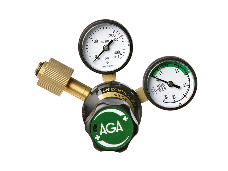 AGA Regulator Unicontrol 300 CO2 HT