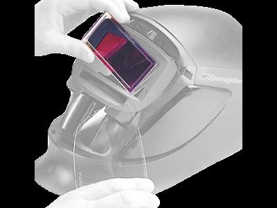 3M 9100 optisk glas styrke + 1,0