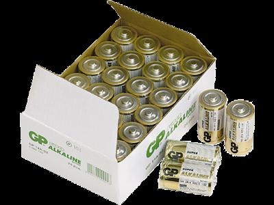 GP Batteri Super Alkaline C 14A/LR14 1,5V, 24 stk