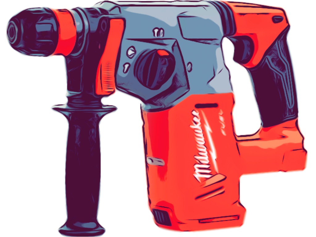 Slagboremaskiner og borehammer