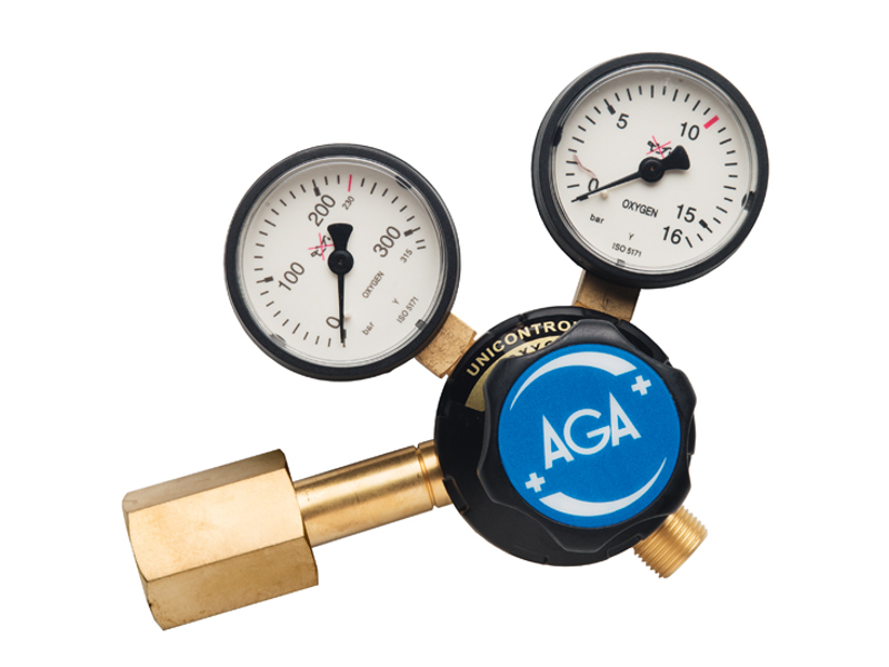 AGA Regula. Unicontrol 500 CO2 0-10 bar