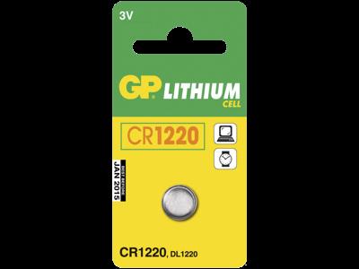 GP Knapbatteri CR 1220 3V