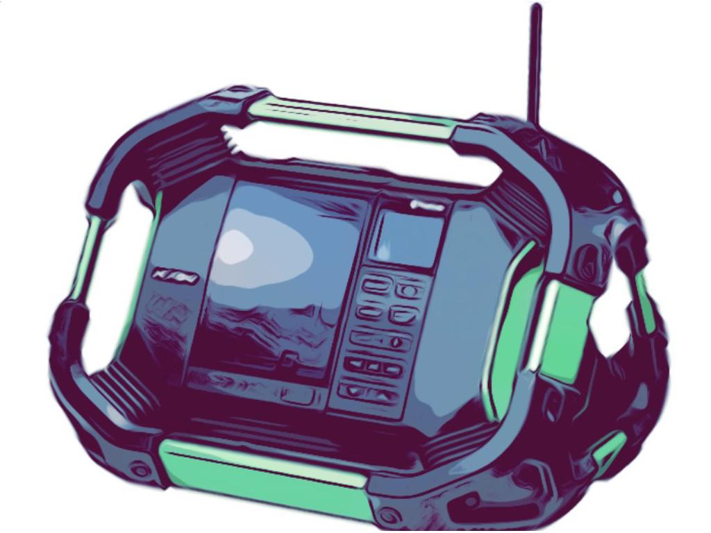 Håndlamper, radioer og øvrige maskiner