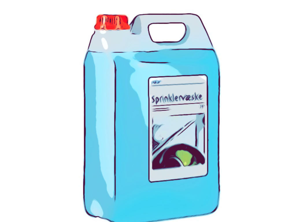 Auto-produkter, opløsningsmidler og kemikalier