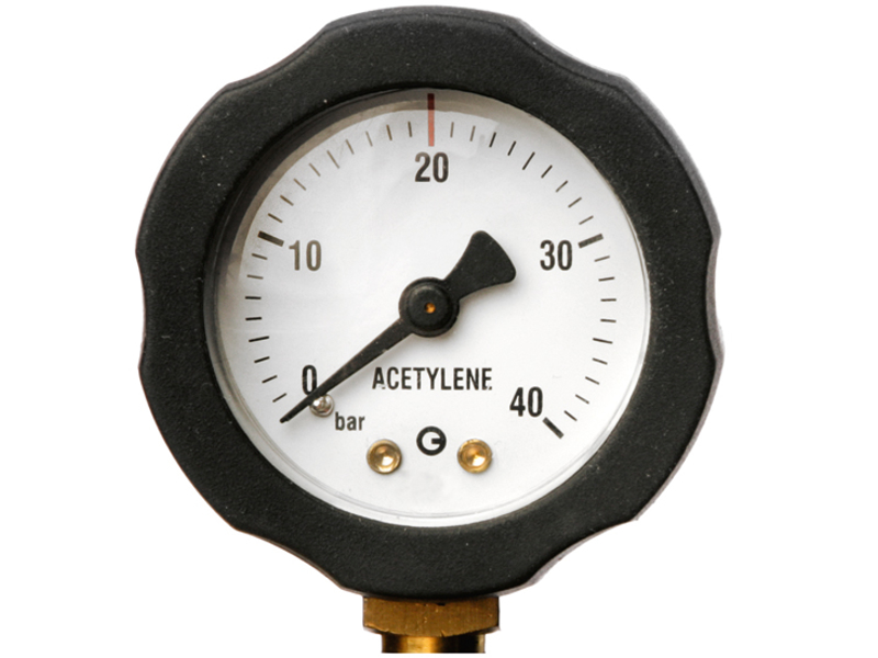AGA Indholdsmanometer AC 40 bar