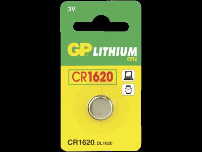 GP Knapbatteri CR 1620 3V
