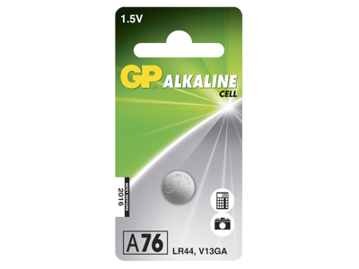 GP Knapbatteri 76A/LR44 1,5V