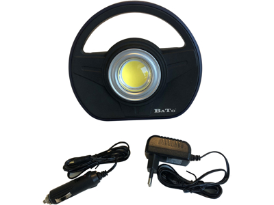 BATO Arbejdslampe COB 10W med flex magnetfod.