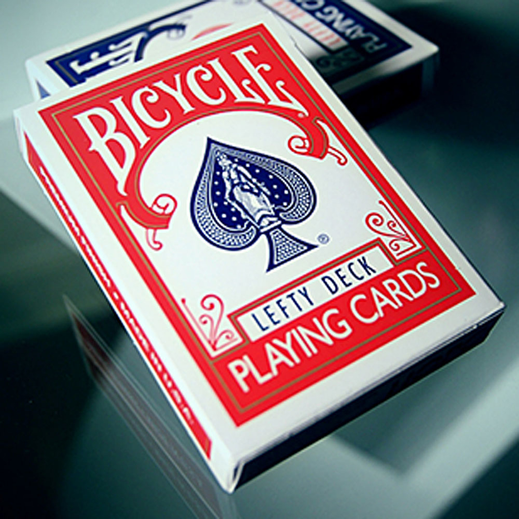 BICYCLE LEFTY DECK