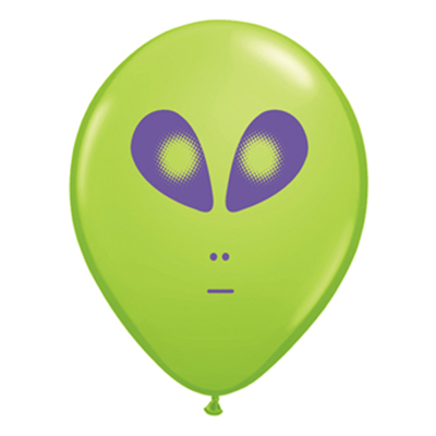 """SPACE ALIEN BALLON 5"""""""