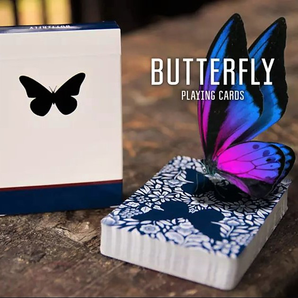 BUTTERFLY PLAYING CARDS - Ondrej Psenick