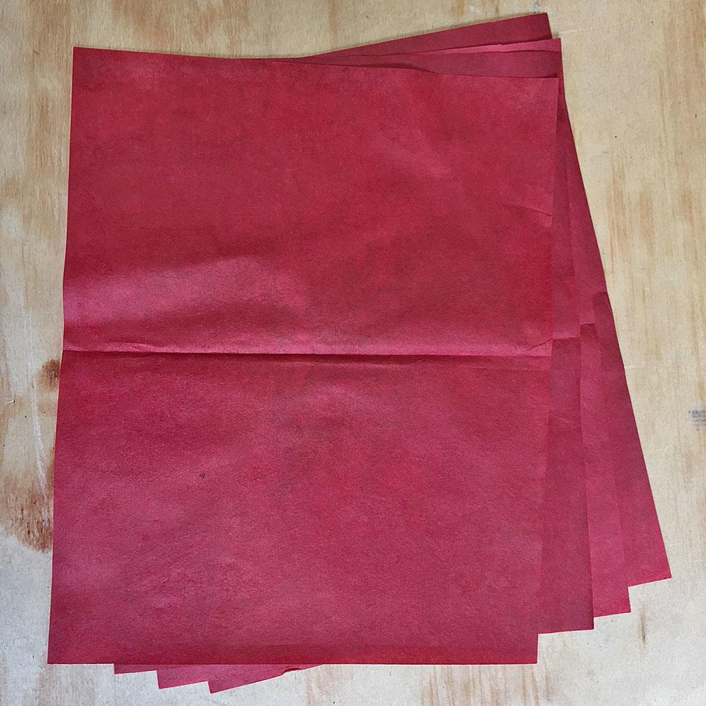 FLASH PAPIR - vådpakket - 4 ark