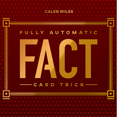 FULLY AUTOMATIC CARD TRICK - Caleb Wiles