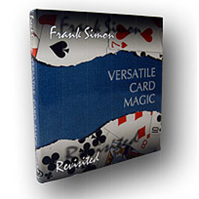 VERSATILE CARD MAGIC - Frank Simon