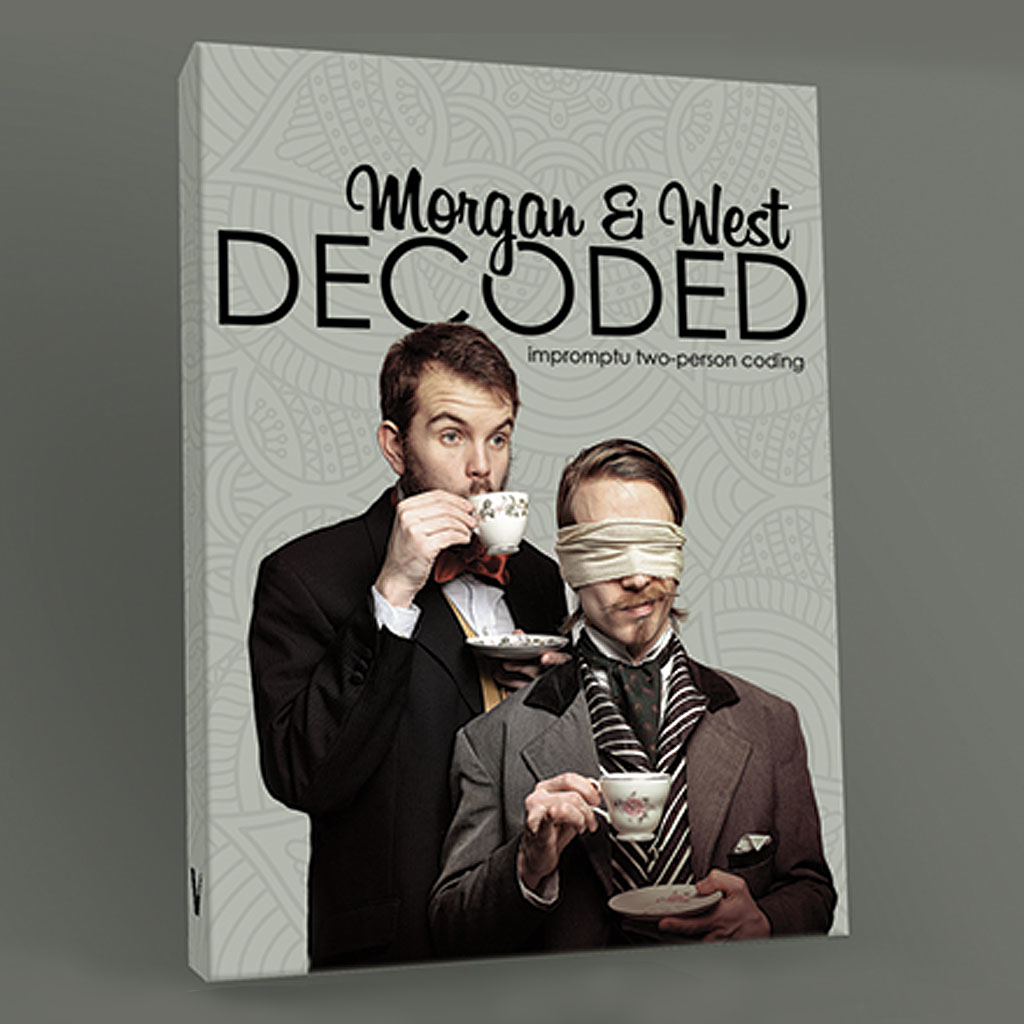 DECODED DVD by Morgan and West