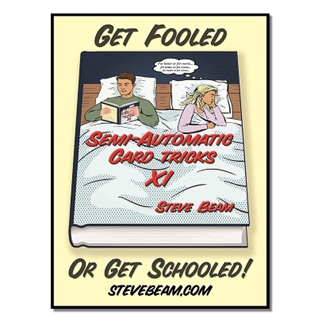SEMI-AUTOMATIC CARD TRICKS - Steve Beam