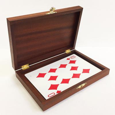 LUXERY WOODEN JUMBO CARD BOX