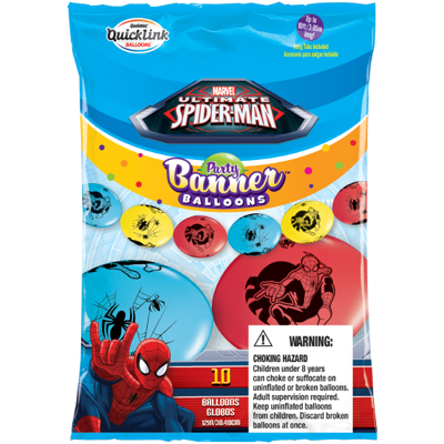 PARTY BANNER SPIDER-MAN