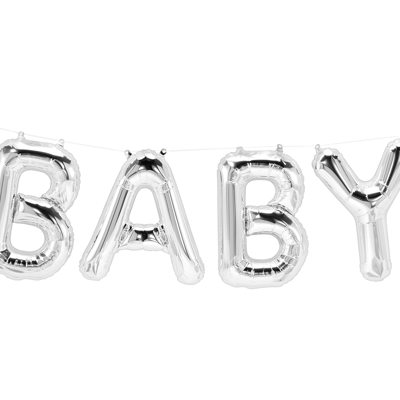 BABY BALLOON BANNER