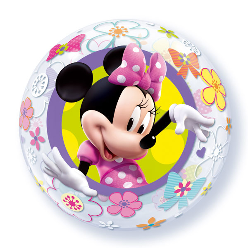 MINNIE MOUSE BUBBLE
