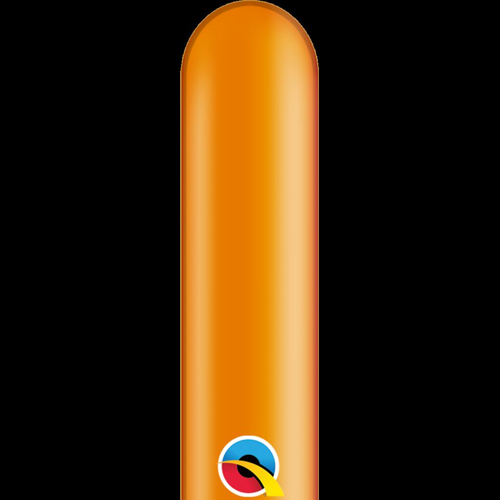 FIGURBALLONER 100 stk. - ensfarvet