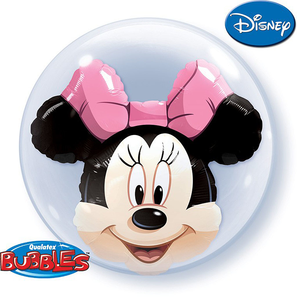 MINNIE MOUSE DOUBLE BUBBLE